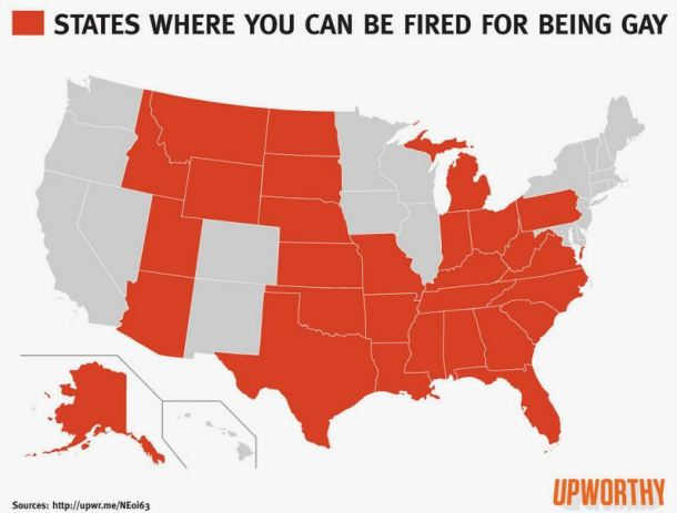 gay fired