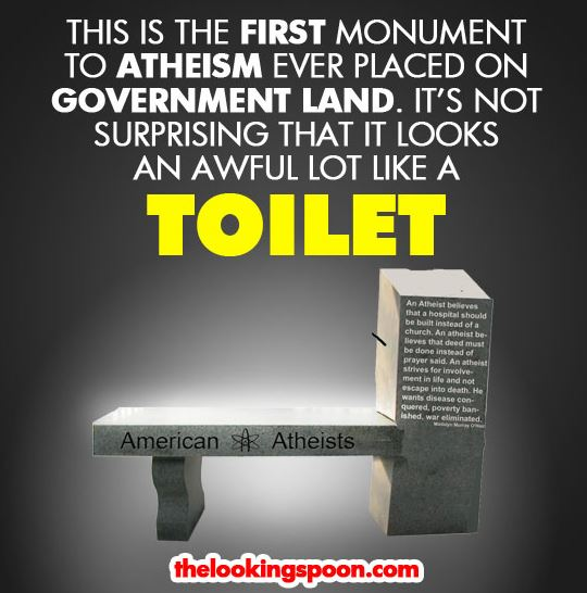 atheist memorial