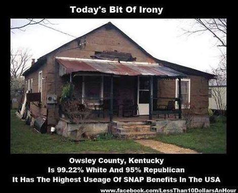 welfare irony